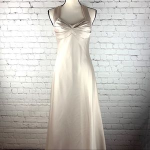 Calvin Klein Women's Satin Long Dress Size 8